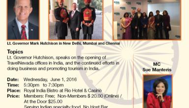 June 1, 2016: LVICC Mixer – Lt Governor Mark Hutchinson Keynote Speaker