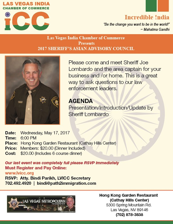 2017 Sheriff's Asian Advisory Council